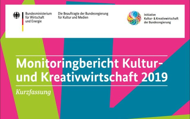 Fakten zur Kultur- & Kreativwirtschaft vom BMWi